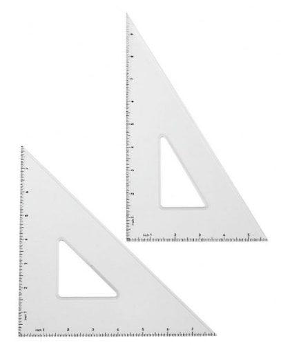 "Triangle Set 10"" 30/60 & 8"" 45/90"