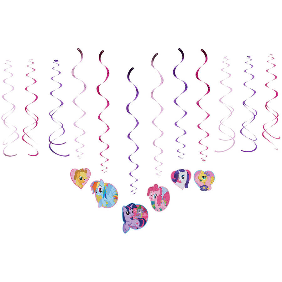 My Little Pony Hanging Party Decorations, Party Supplies