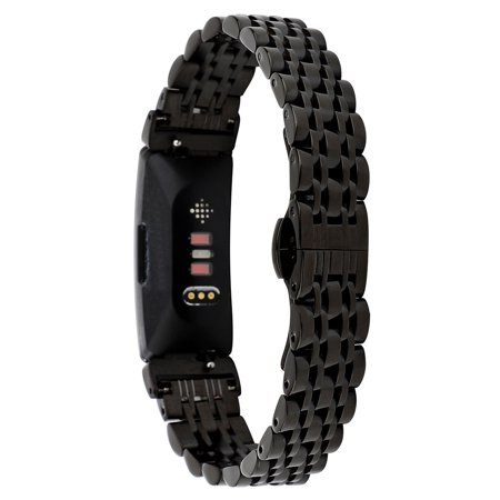 Stainless Steel Bead Replacement Bracelet Strap For Fitbit Inspire / Inspire -