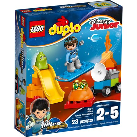 lego duplo miles miles 39 space adventures 10824. Black Bedroom Furniture Sets. Home Design Ideas