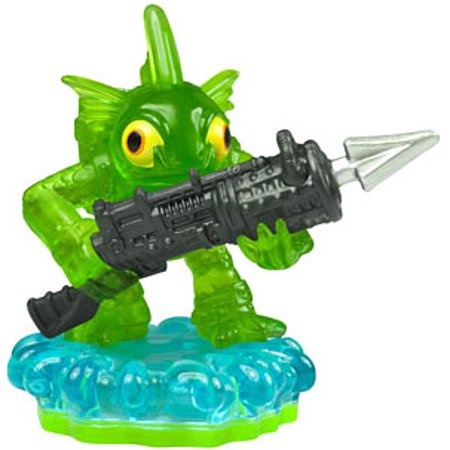 Skylanders Loose Gill Grunt Figure [Translucent Green Armor]](Skylander Girl)