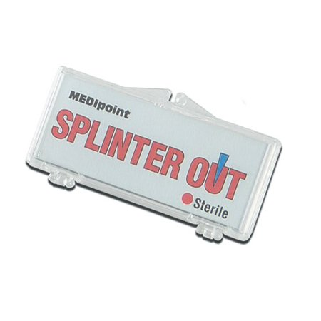 Splinter Out Remover 10/box - 2 Pack, First Aid By Medipoint (First Aid Box Contents)