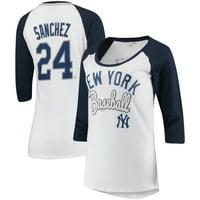 325d820a1 Product Image Gary Sanchez New York Yankees 5th & Ocean by New Era Women's  Glitter 3/4