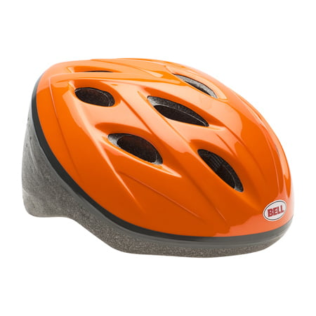 Bell Edge Bike Helmet, Orange, Youth 8+ (54-57cm)
