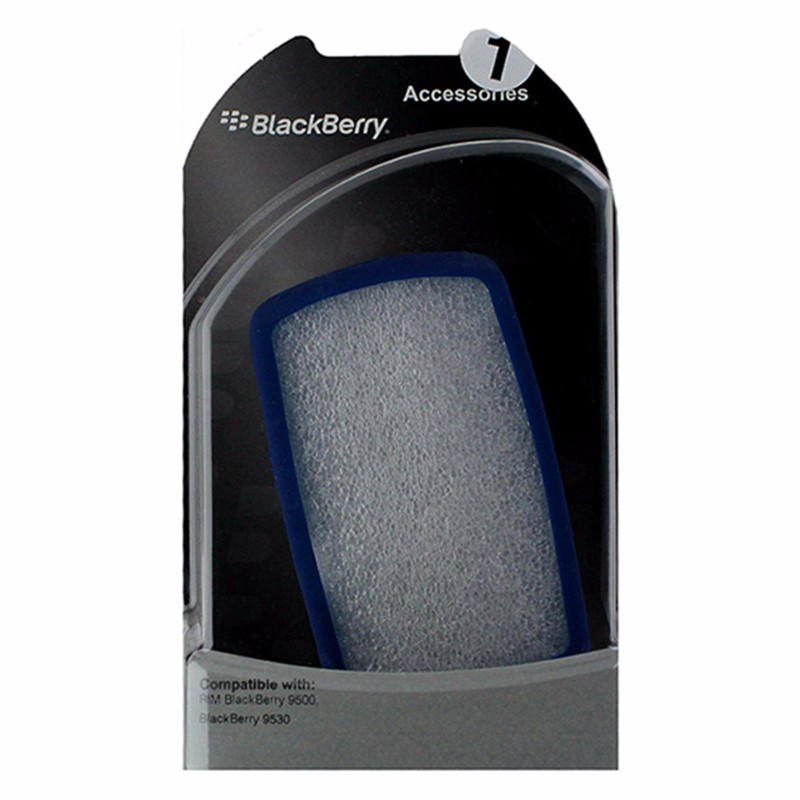 BlackBerry Silicone Skin for BlackBerry Storm 9500 / 9530 - Dark Blue