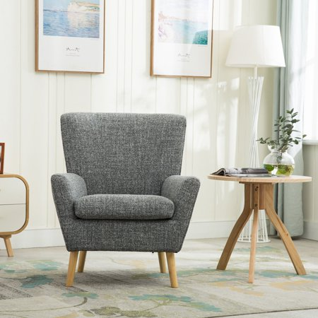 Bonzy Accent Chair Contemporary Clean Style Design Living Room