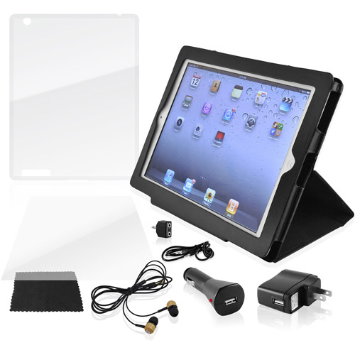 Ematic 9-in-1 Accessory Kit for iPad 2