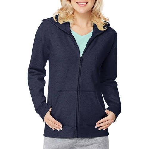 Hanes Women's Fleece Full Zip Hoodie by Generic