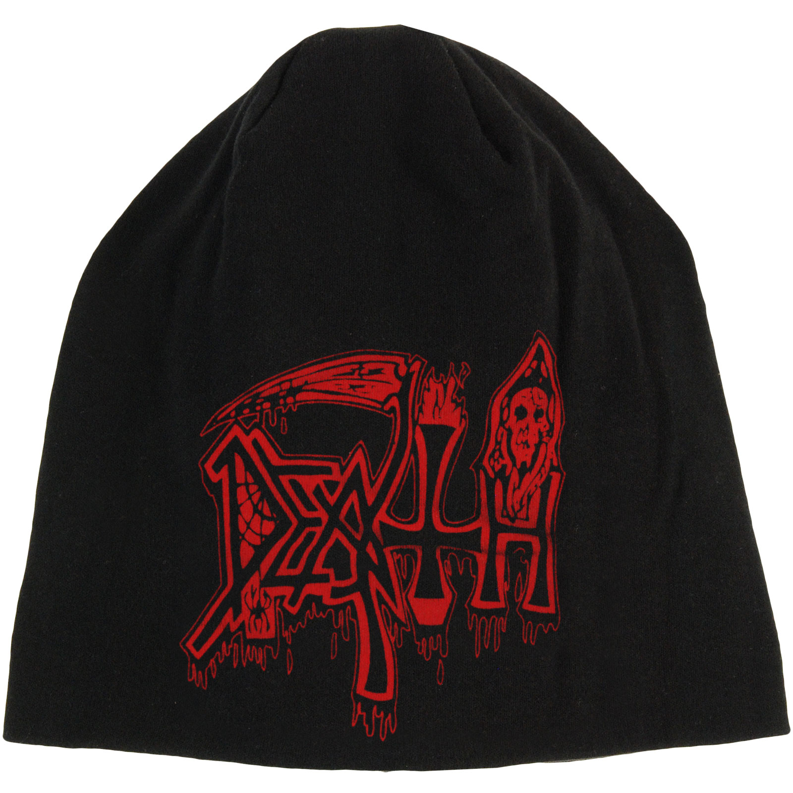 Death Men's Life Will Never Last Beanie Black