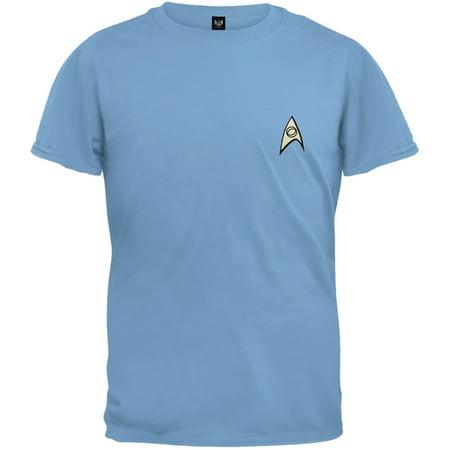 Star Trek - Science Uniform Youth Costume T-Shirt (Star Trek Dress Uniform)