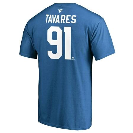 hot sales d6f75 de02d Fanatics John Tavares Toronto Maple Leafs NHL Player Name and Number Tee