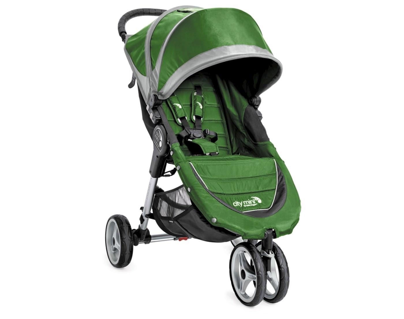 Baby Jogger City Mini 3 Wheel Stroller, Evergreen ...