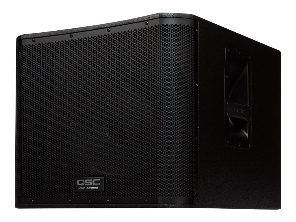 QSC KW Series KW181 Subwoofer 1000 Watt black by QSC
