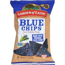 Tortilla & Corn Chips: Garden of Eatin' Blue Chips