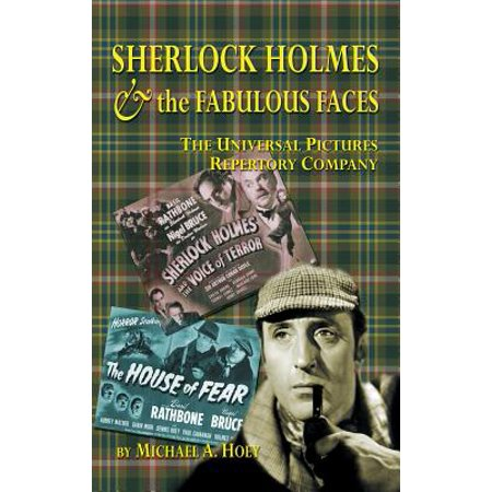 Sherlock Holmes & the Fabulousfaces - The Universal Pictures Repertory Company (Hardback)