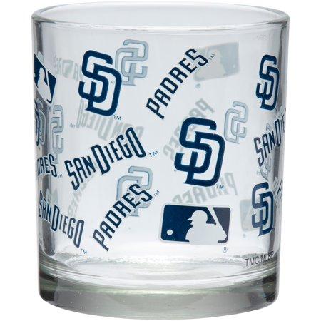 San Diego Padres 8.45oz. Full Wrap Rocks Glass - No Size Glasses San Diego