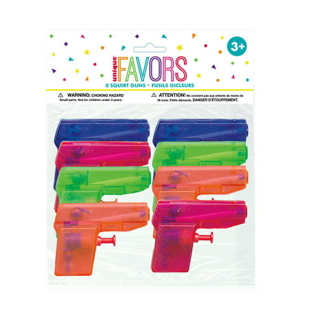 Mini Water Gun Party Favors, 8ct