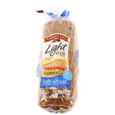 Light Soft Wheat Bread 16 oz (Pack of 2) Pepperidge