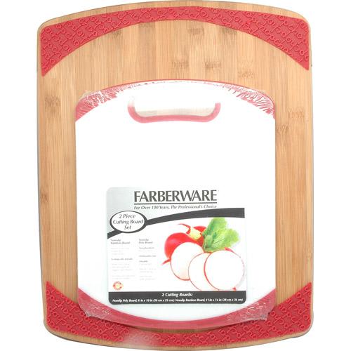 Farberware 2pk Bamboo/poly Boards