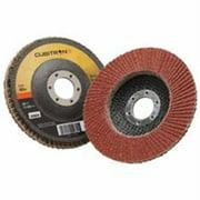 3M CUBITRON II 967A Flap Disc,T27,4-1/2in. x 7/8in.,40
