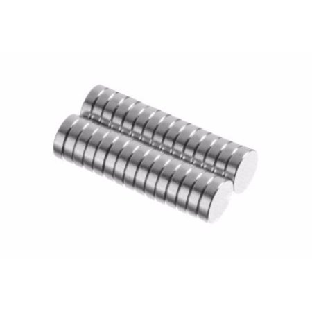 (totalElement 1/4 x 1/16 Inch Neodymium Rare Earth Disc Collar Stay Magnets N48 (30 Pack))