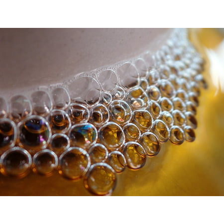 LAMINATED POSTER Clear Details Soap Macro Close Bubbles Poster Print 24 x 36
