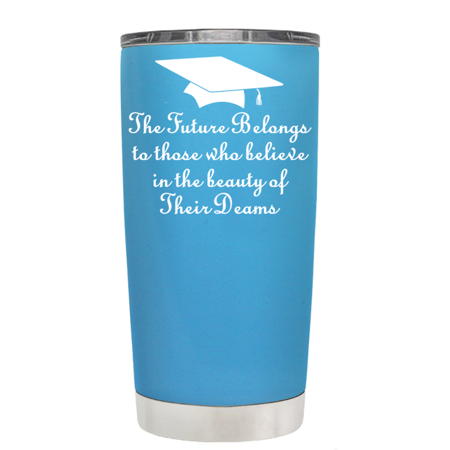 TREK Blue Baby 20 oz - The Future Belongs to Those who Believe Tumbler for $<!---->