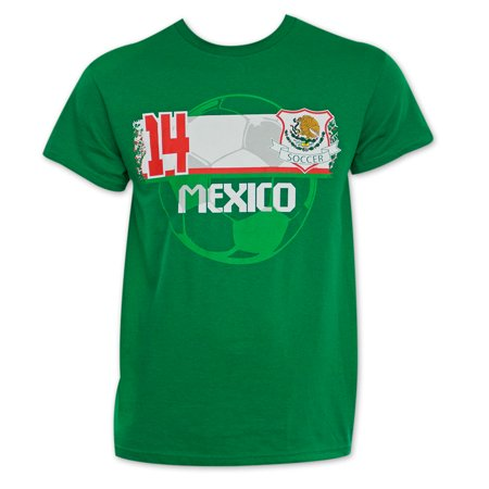 Custom Green Soccer Jerseys (Mexico Soccer Team World Cup Jersey Shirt)