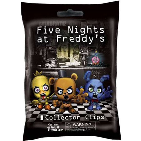 five nights at freddys collector clips mystery pack walmart com