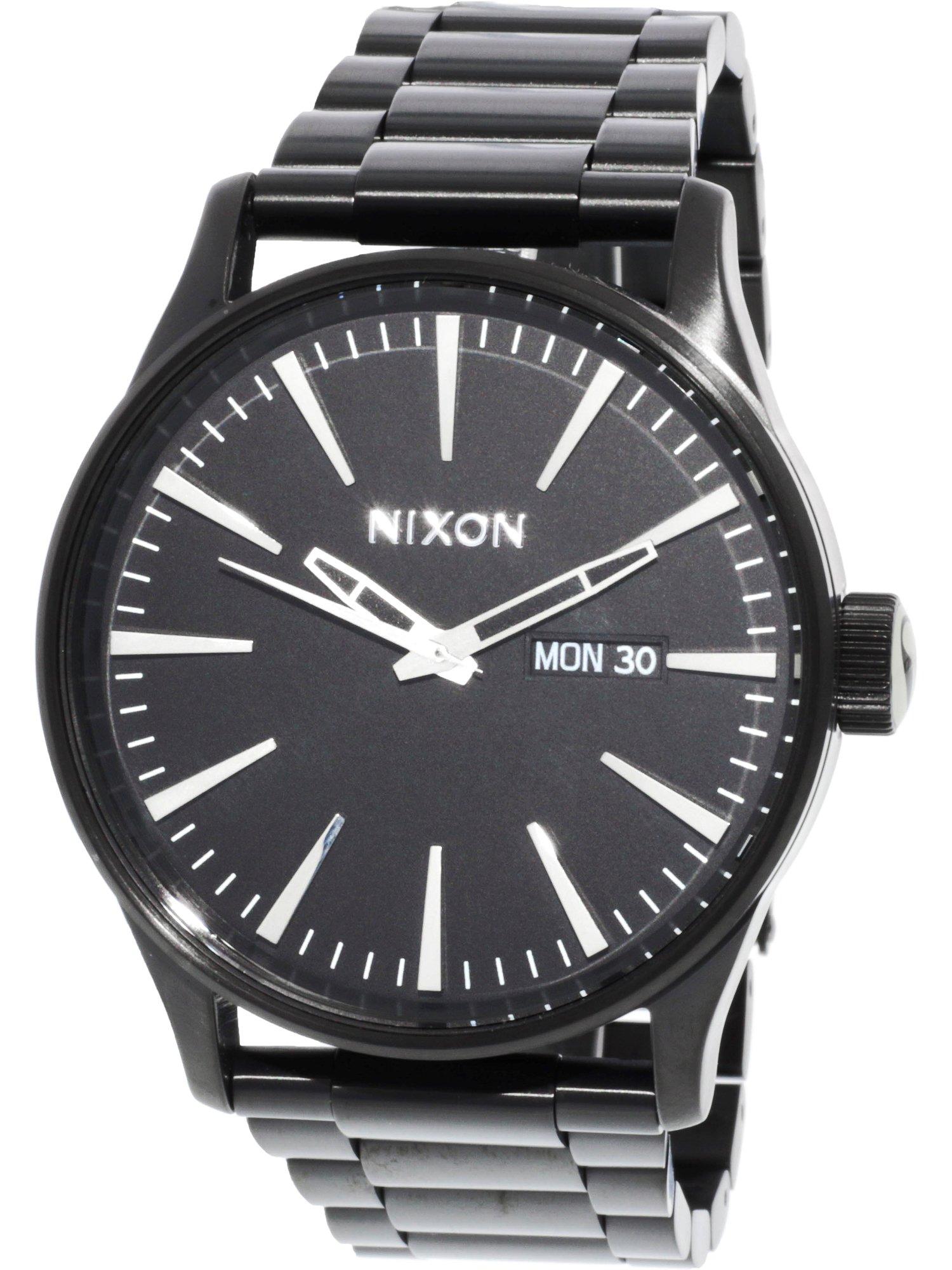 Men's A356001 Black Stainless-Steel Quartz Fashion Watch