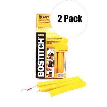 Bostitch SB-CAPS 2 Pk 1000 Pack Cap Stapler and Nailer Caps