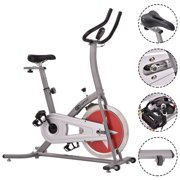 Costway Bicycle Cycling Exercise Bike Adjustable Gym Fitness Cardio Workout Home Indoor by Costway