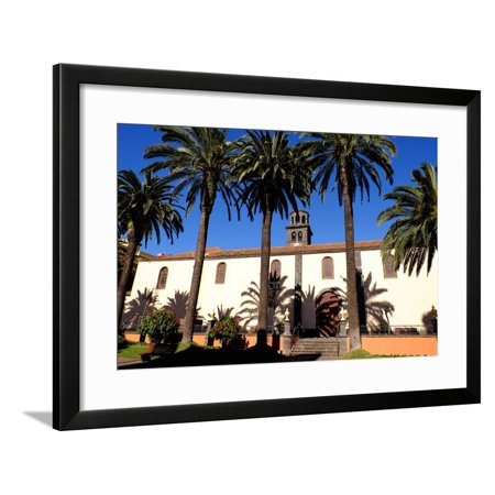Church of the Immaculate Conception, San Cristobal De La Laguna, Tenerife, Canary Islands, Spain Framed Print Wall Art By Carlo (Church Of The Immaculate Conception San Diego)
