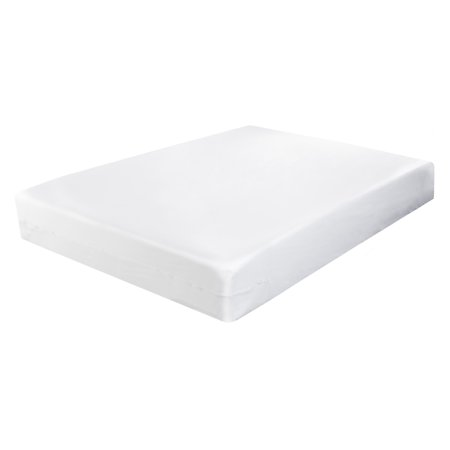 Fresh Ideas™ Fitted Vinyl Mattress Protector by Levinsohn Vinyl Rain Cover