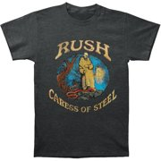 Rush Men's  Caress Of Steel Slim Fit T-shirt Heather Charcoal