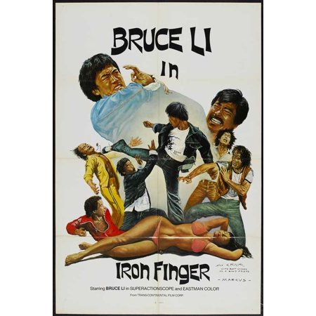 Bruce and the Iron Finger POSTER Movie Mini Promo