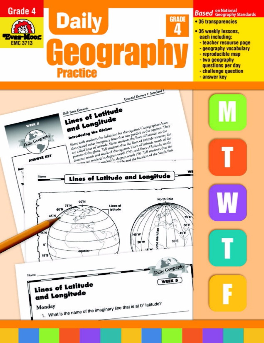 Evan-Moor Daily Geography Practice Book, Grade 4 by Evan-Moor