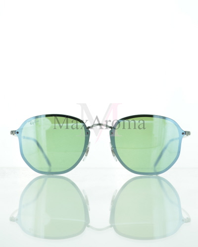 Ray Ban RB3579N 003/30  Blaze Hexagonal Mirror Sunglasses