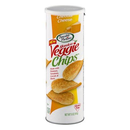 Sensible Portions Garden Veggie Chips Cheddar Cheese 5 0 Oz