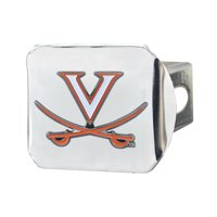 "University of Virginia Color Hitch Chrome 3.4""x4"""