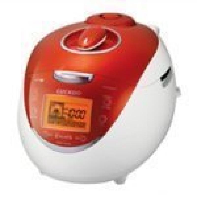 Cuckoo CRP-HV0667F 6 Cup Electric Rice Cooker, 110V, Orange