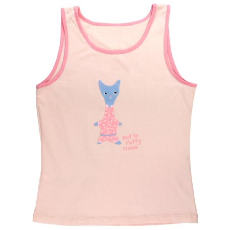 Fiona Tank - Naughty Pets - Fluffy Fiona Juniors Sleep Tank Top