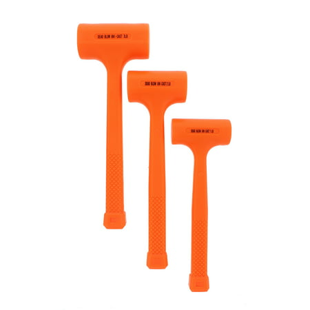 ABN Dead Blow Hammer Pound Mallet with Non-Marring Rubber Coating - Blow Up Hammer