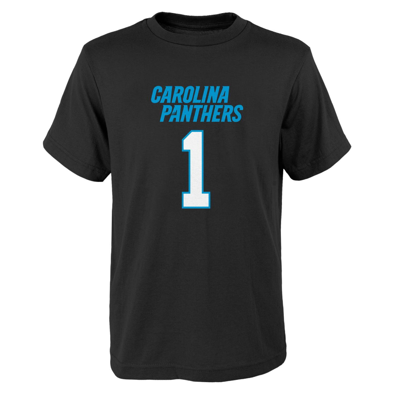 "Cam Newton Carolina Panthers Youth ""Mainliner"" Player T-shirt"