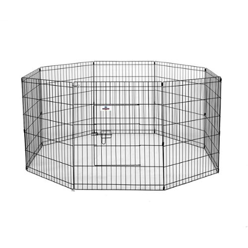 Confidence Pet Metal Playpen Exercise Pen Fence Cat Kennel MD