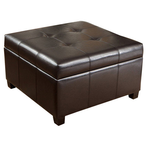 Home Loft Concepts Leeds Storage Cocktail Ottoman