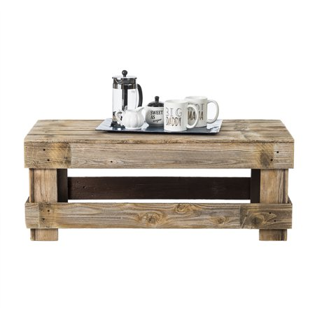Del Huston Barnwood Coffee Table Wellington Cocktail Table