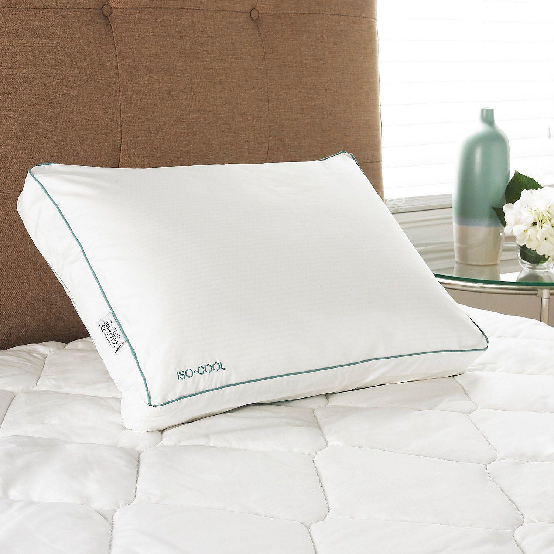 Iso-Cool Visco Elastic Memory Foam Side Sleeper Pillow wi...