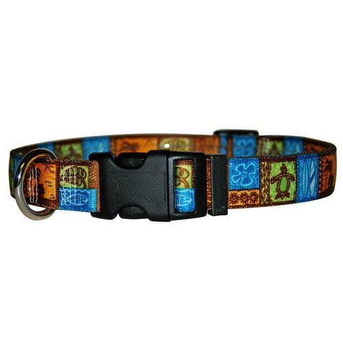 Yellow Dog Design TK100XS Tiki Print Standard Collar - Extra Small
