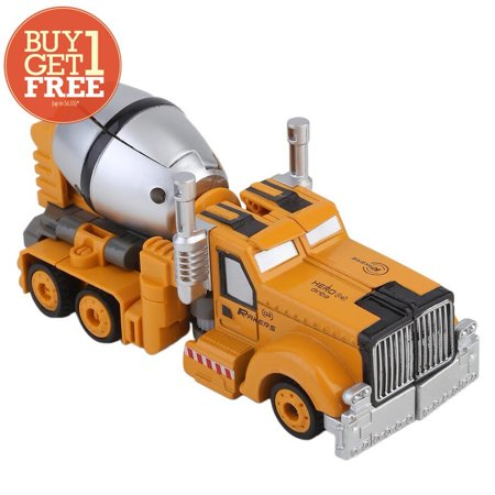 2500e241688 Buy One Get One Free Kids Transforming Robot Vehicle Car Mixer Toys ...